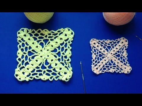 Cuadro tejido ep1 ganchillo crochet youtube - Como hacer colcha de ganchillo ...