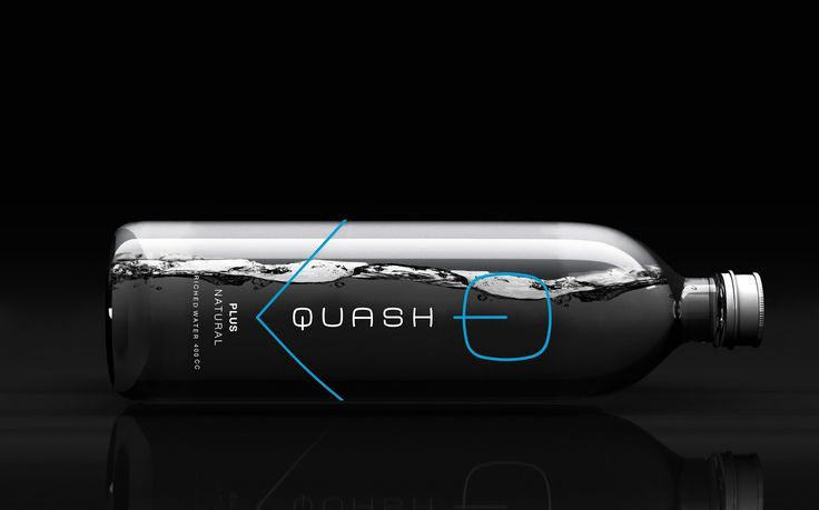 Quash Enriched Water on Packaging of the World - Creative Package Design Gallery