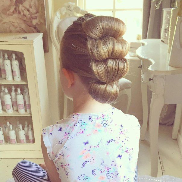 Причёски для маленькой принцессы / Слабый пол!