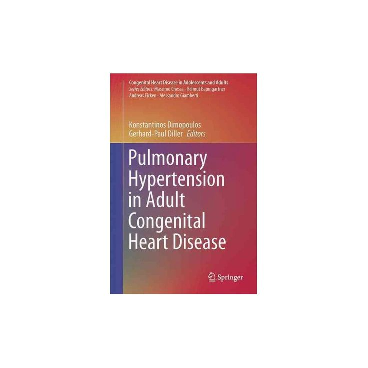Pulmonary Hypertension in Adult Congenital Heart Disease (Hardcover)
