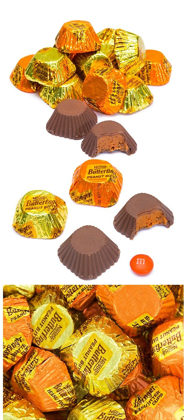 Wow, check out this autumn offering from Butterfinger:  Fall Minis!  http://www.candywarehouse.com/products/butterfinger-peanut-butter-cups-minis-105-ounce-bag/?utm_source=Pinterest&utm_medium=Social&utm_campaign=Fall