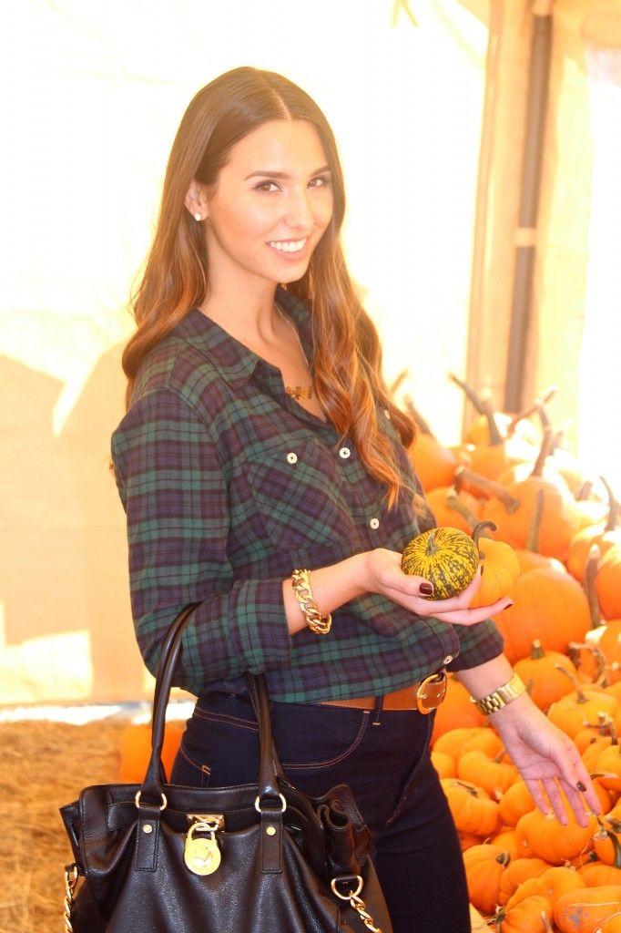 The Pumpkin Patch Trip! #fashion #style #pumpkinpatch #miami #fashionblogger #fashionblog #plaid #flannel
