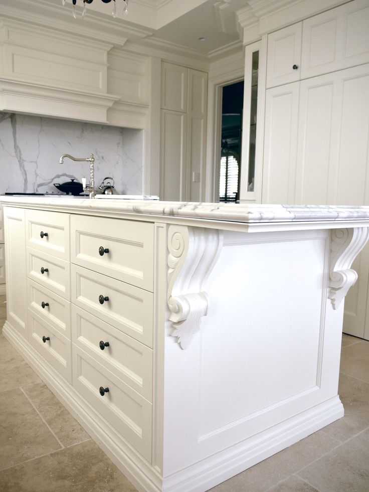 French Parisian style kitchen - French provincial style in Sydney, Australia