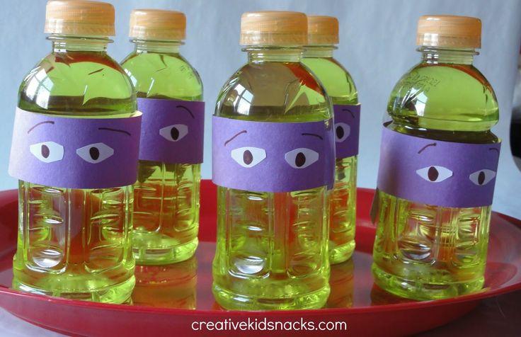 ninja turtle party ideas | Creative Birthday Party Food: Teenage Mutant Ninja Turtles