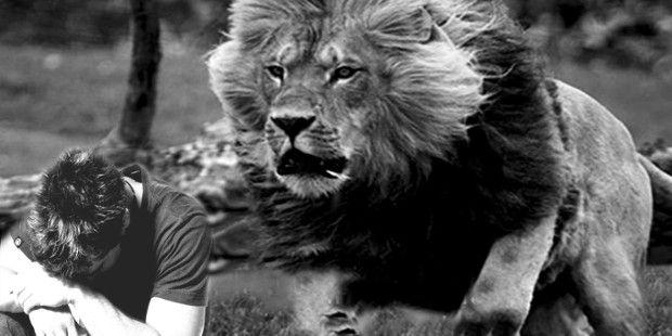 MI RINCON ESPIRITUAL: El diablo, como un león rugiente, ronda buscando a...