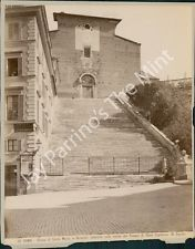 AHA-054 Vintage Photo- Church of Santa Maria in Aracoeli, Rome, Italy