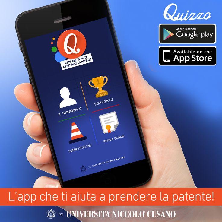 Quizzo, la nuova App realizzata dall'Ateneo Niccolò Cusano per conseguire la patente di guida e non solo
