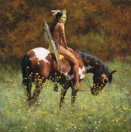 fine oil native american paintings | native american # oil # painting # art