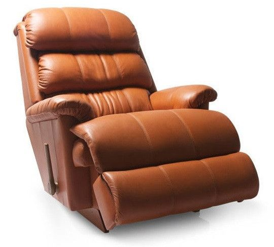 La-Z-boy Leather Recliner - Grand Canyon  sc 1 st  Pinterest & A massaging recliner chair at home is the next best thing to ... islam-shia.org