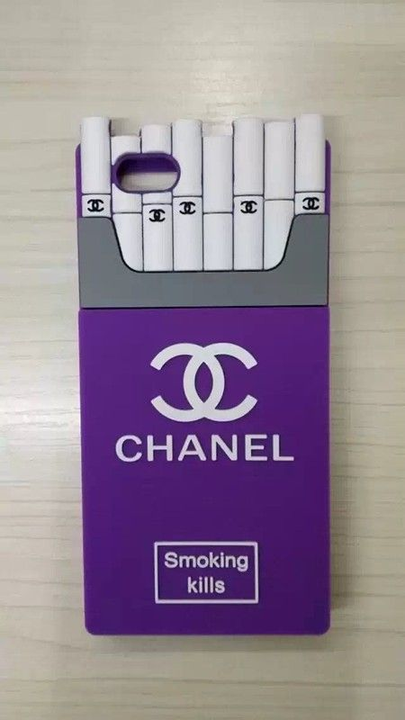 COQUE IPHONE 6 /iPhone 6 PLUS 5/55S HOUSSE CHANEL CIGARETTE STYLE ORIGINAL SILICONE - Coque Samsung Galaxy S5 Chanel - Coque Samsung Galaxy S5