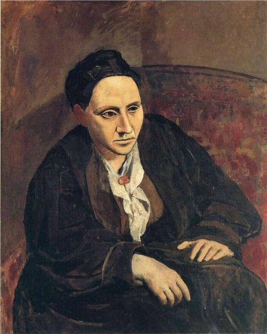 Portrait de gertrude stein Picasso