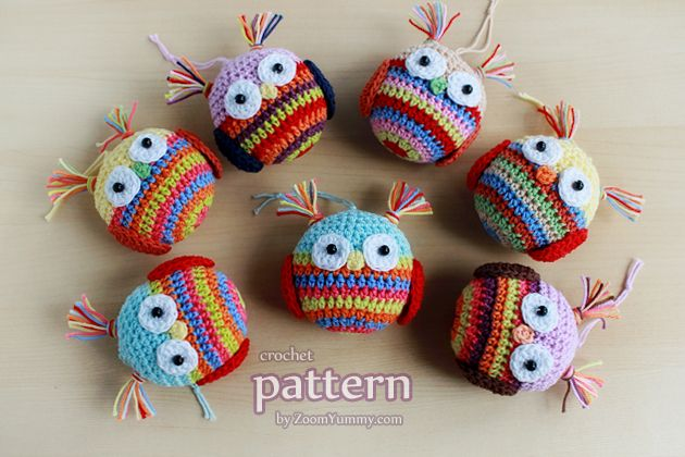 New Pattern – Crochet Christmas Ball – OWL