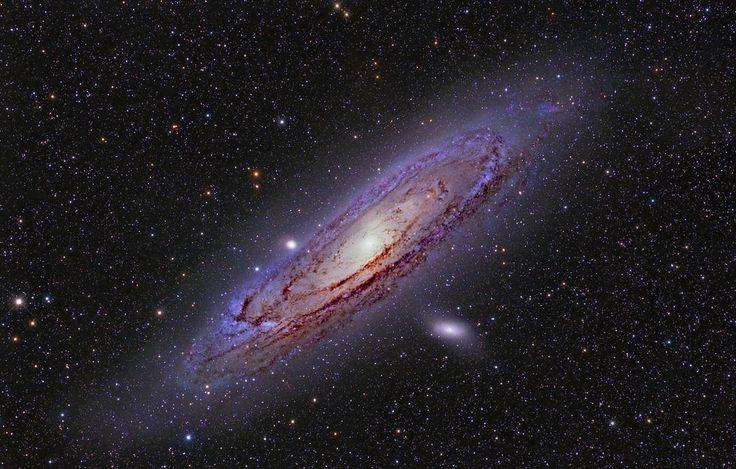 1,109 отметок «Нравится», 9 комментариев — Космические путешествия (@space.journey) в Instagram: «Галактика М31 или Туманность Андромеды.  Является ближайшей к нам спиральной галактикой. Расстояние…»