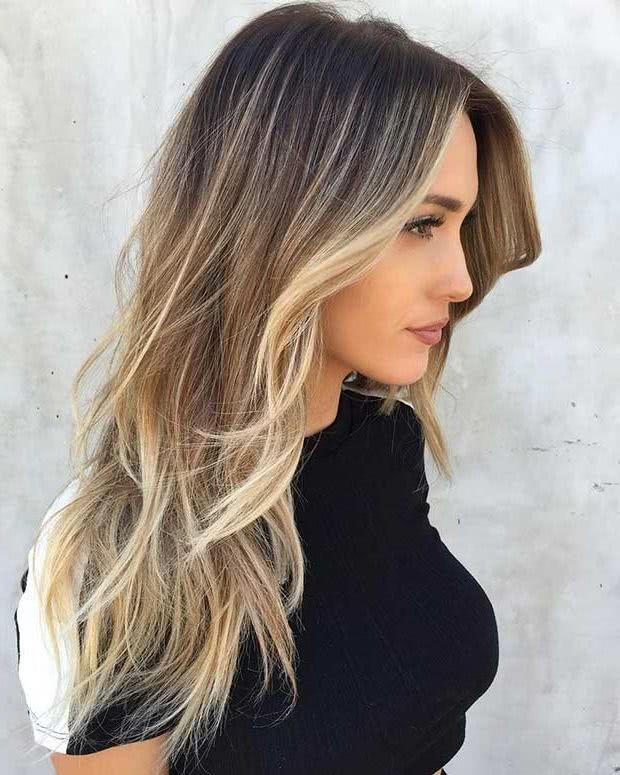 Cortes para cabello largo con volumen