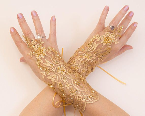 30 best Wedding Lace Gloves images on Pinterest Wedding lace