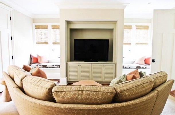 Amazing Round Sofa Design Ideas for Circular Living Room : Inspirational Interior and Exterior Home Design Ideas – TheMakaroni.com