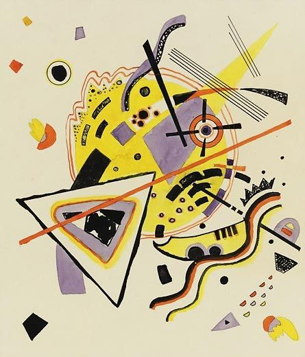 Wassily Kandinsky - Untitled, 1922