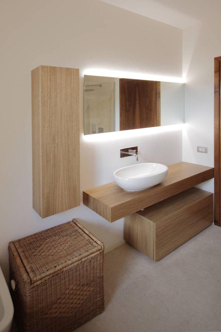 36 best arredo bagno images on pinterest | bathroom ideas, laundry ... - Progetti Di Bagni Moderni