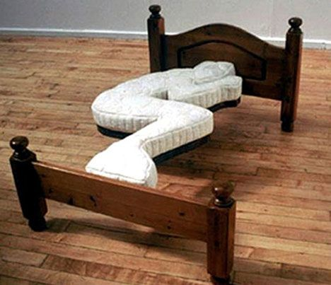 Always sleep in the same position? Then this is the bed for you!