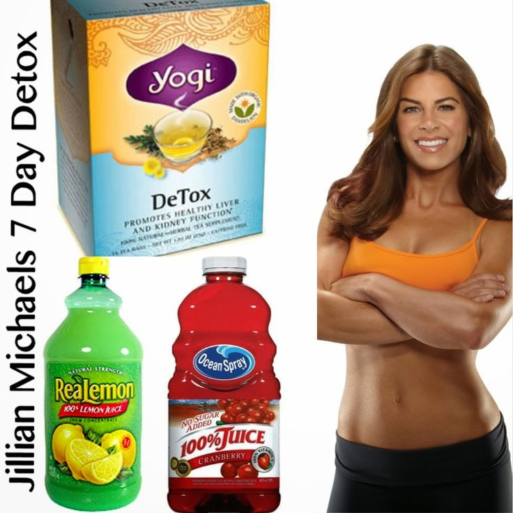 Detox and cleanse jillian michaels
