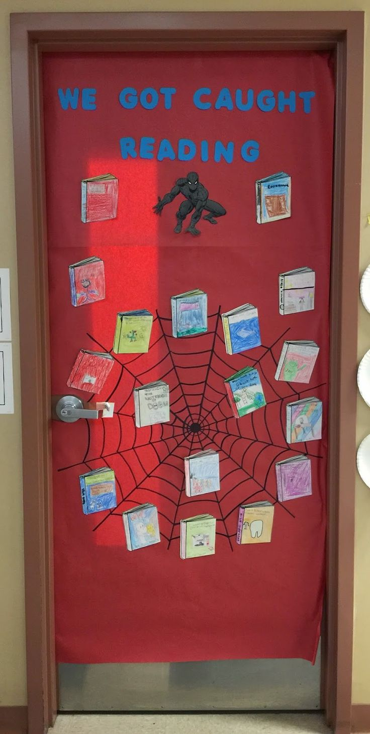 3.4.15 || Wednesday was judging day for Nevada Reading Week door decoration contest for school. This year's theme is Got Books? Be a Super...
