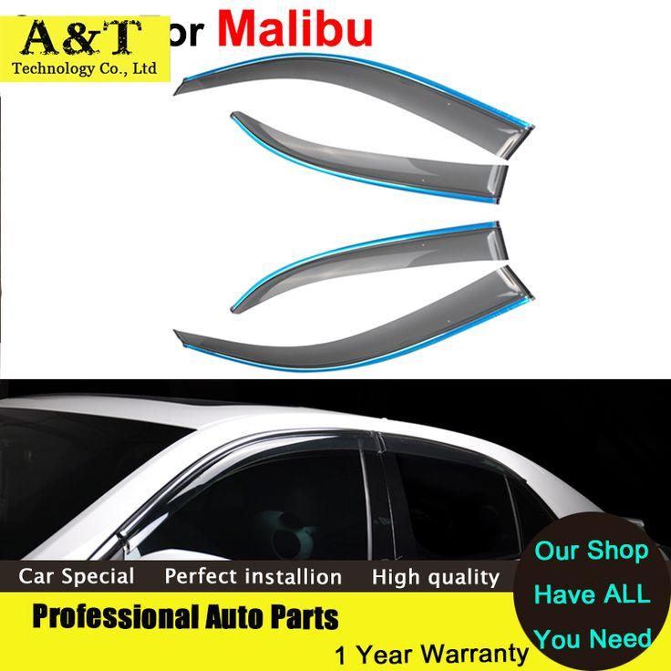 Стайлинга автомобилей окно козырьки для Chevrolet Malibu 2011 2012 2013 2014 вс дождь наклейки щит автотентами стиль маркизы приюты