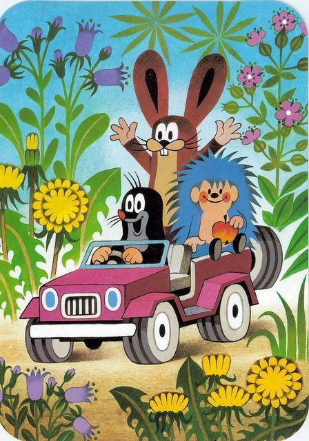Krtek, the mole. Best cartoon!: