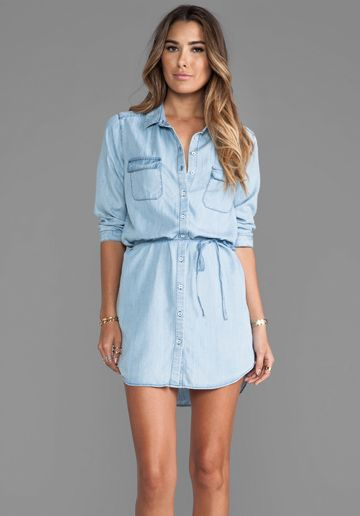 chambray dress chambray and dress in on pinterest