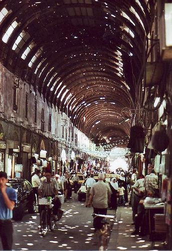 Hamidyeh souq/market... the most amazing market I have ever seen...Put it on your Bucket list...that is when Bashar Assad it taken down and Syria regains its greatness and freedom!!!...