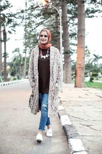 neutral long knit cardigan, 27dresses winter collection 2016 http://www.justtrendygirls.com/27dresses-winter-collection-2016/