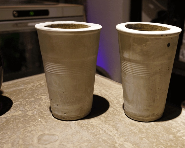 Cement Party Cups