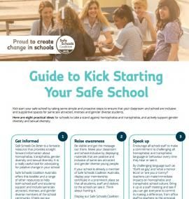 Guide to Kick Starting Your Safe School
