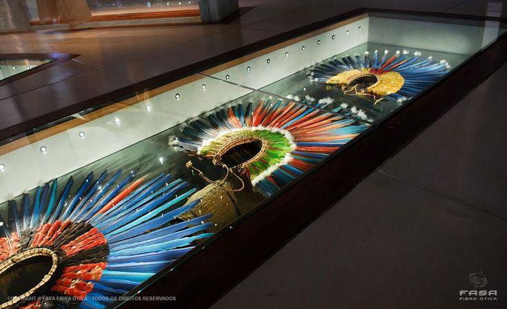 Fibra ótica em Museu - Arquitetura: Apolinário Ramos  #fibraotica #iluminação #museu