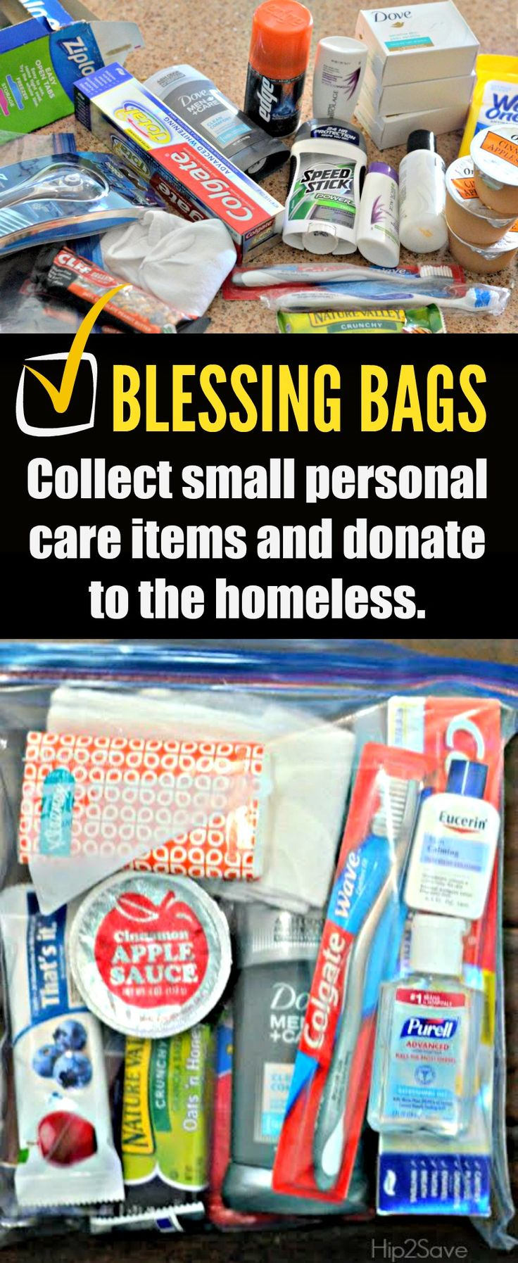 "Make DIY ""Blessing Bags"" for People who are Homeless – Hip2Save"