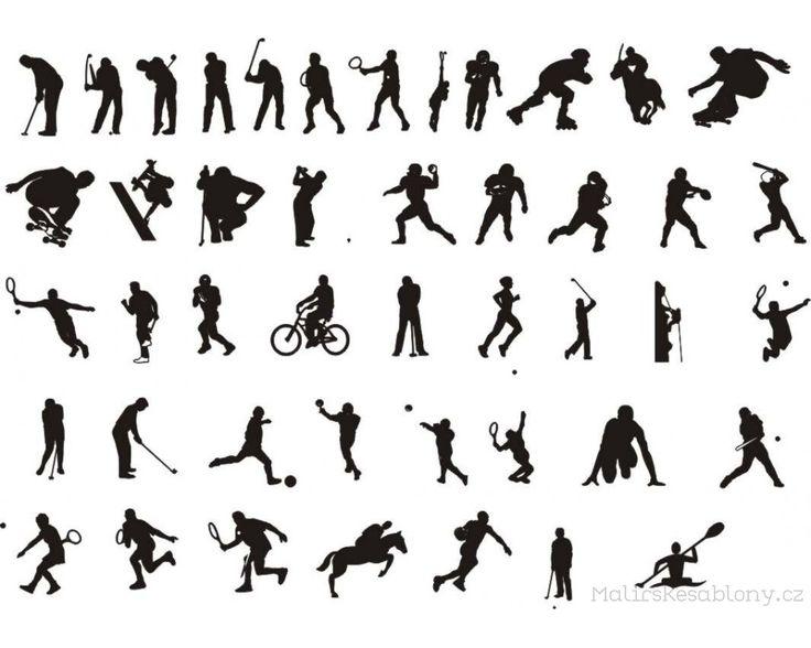 šablona pro kresbu postavy v pohybu - Hledat Googlem