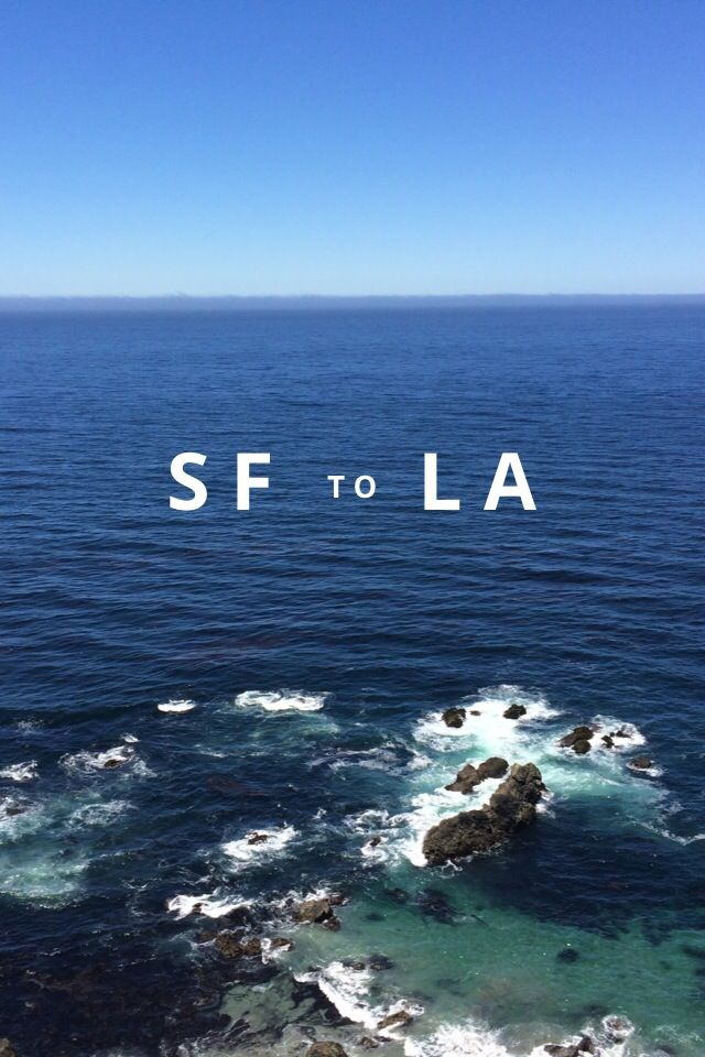 SF to LA by Sara Ridky on Steller #steller