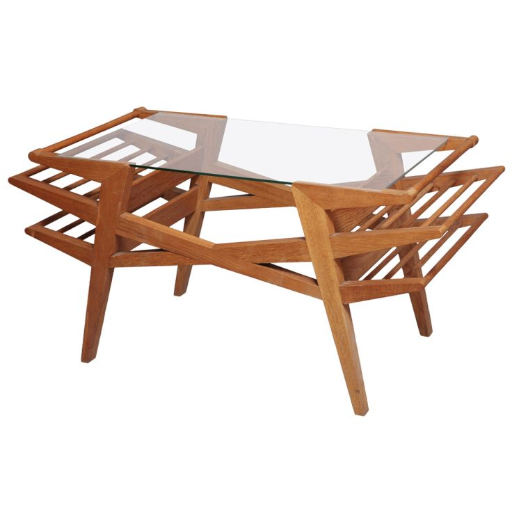 Maxime Old 1950s Coffee Table | From a unique collection of antique and modern coffee and cocktail tables at https://www.1stdibs.com/furniture/tables/coffee-tables-cocktail-tables/