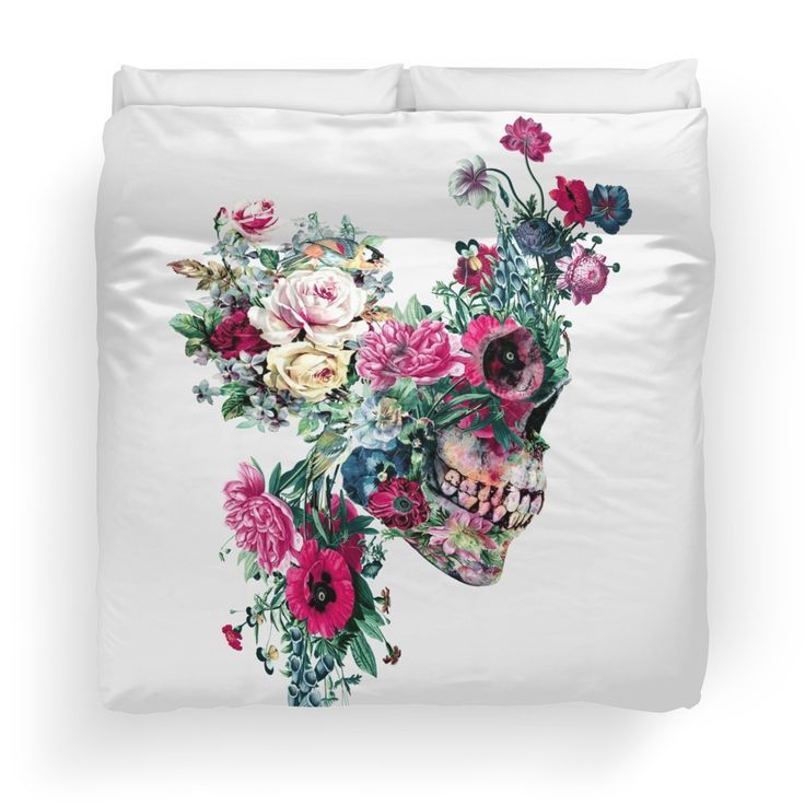 SKULL VII #homedecor #interiors #skull #flowers #home
