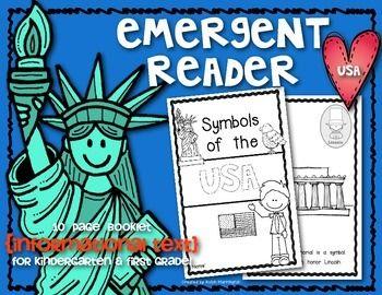 67 best national symbolslandmarks images on pinterest teaching symbols of the usa emergent reader for kindergarten and first grade ccuart Choice Image