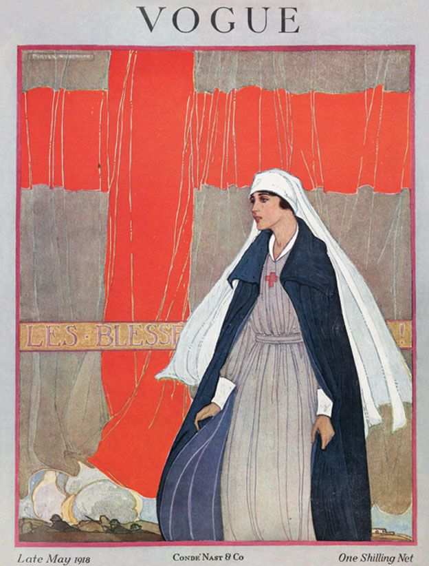 Vogue UK, May 1918.