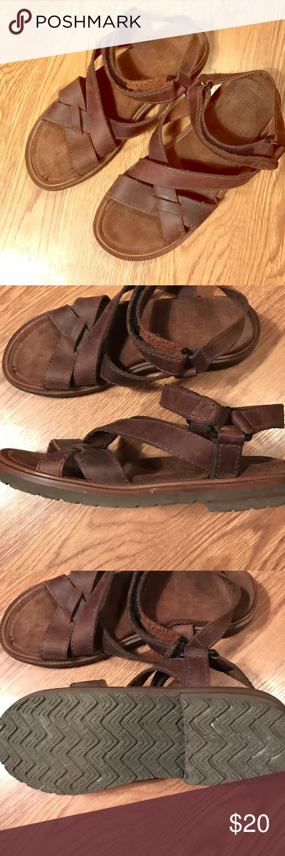G.h. Bass Jesus sandals 11 1/2 men's These are MENS size 11 1/2 in Good used condition leather sandals. Bass Shoes Sandals