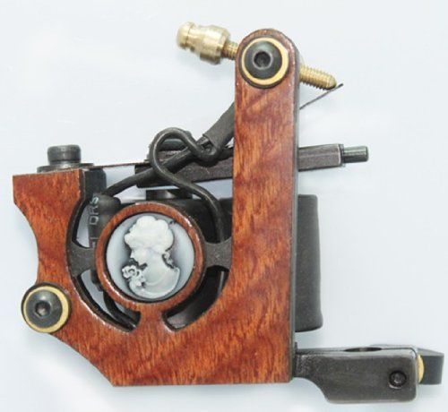 NEW Professional Tattoo Machine Gun 10 wrap coils Shader Liner TMS057 >>> Read more  at the image link. Note:It is Affiliate Link to Amazon.