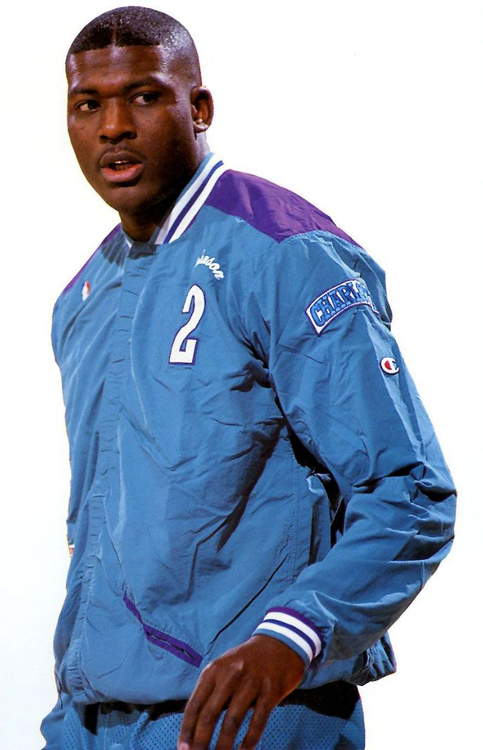 Larry Johnson Charlotte Hornets... May start repping them again :)