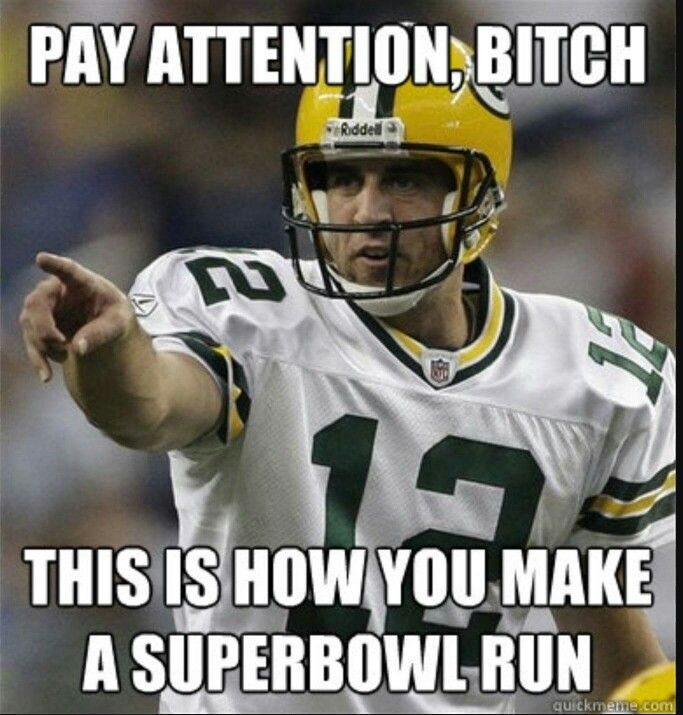 Sunday Night Football Quotes: Pay Attention, Bitch.