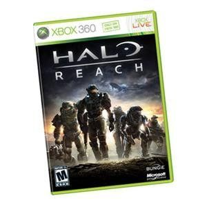 """Halo Reach Xbox 360 by Microsoft. $42.77. Halo Reach for Xbox 360 English NTSC DVD... """"Halo: Reach"""" tells the tragic and heroic story of Noble Team, a group of Spartans, who through great sacrifice and courage, saved countless lives in the face of impossible odds. The planet Reach is humanity's last line of defense between the encroaching Covenant and their ultimate goal, the destruction of Earth. If it falls, humanity will be perched on the brink of destruction."""