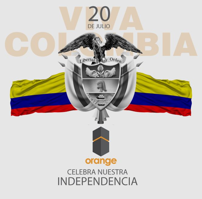 Viva Colombia !!!#orangefreightforwarder