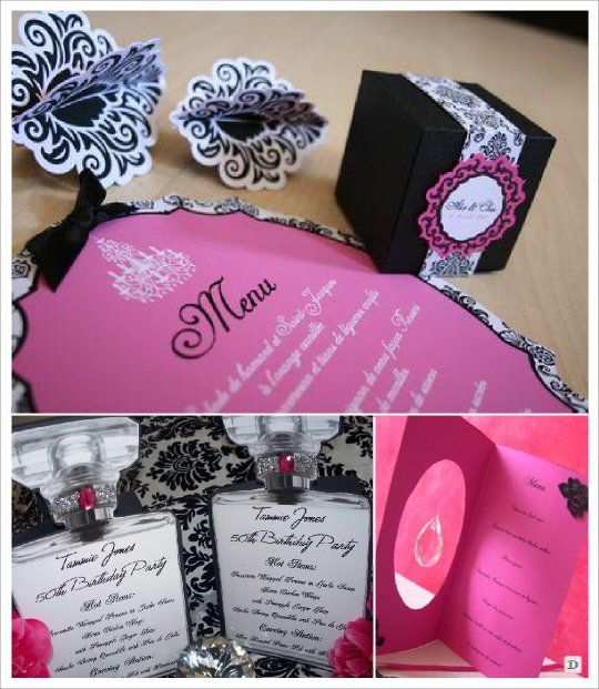 29 best SUPPORT MENU MARIAGE images on Pinterest