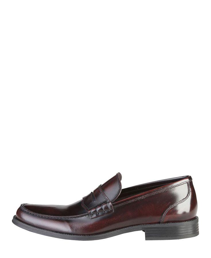 Made in italia - scarpe uomo - 100% made in italy - collezione autunno-inverno - mocassini uomo - tomaia: 100% vera pell - Mocassino uomo Rosso