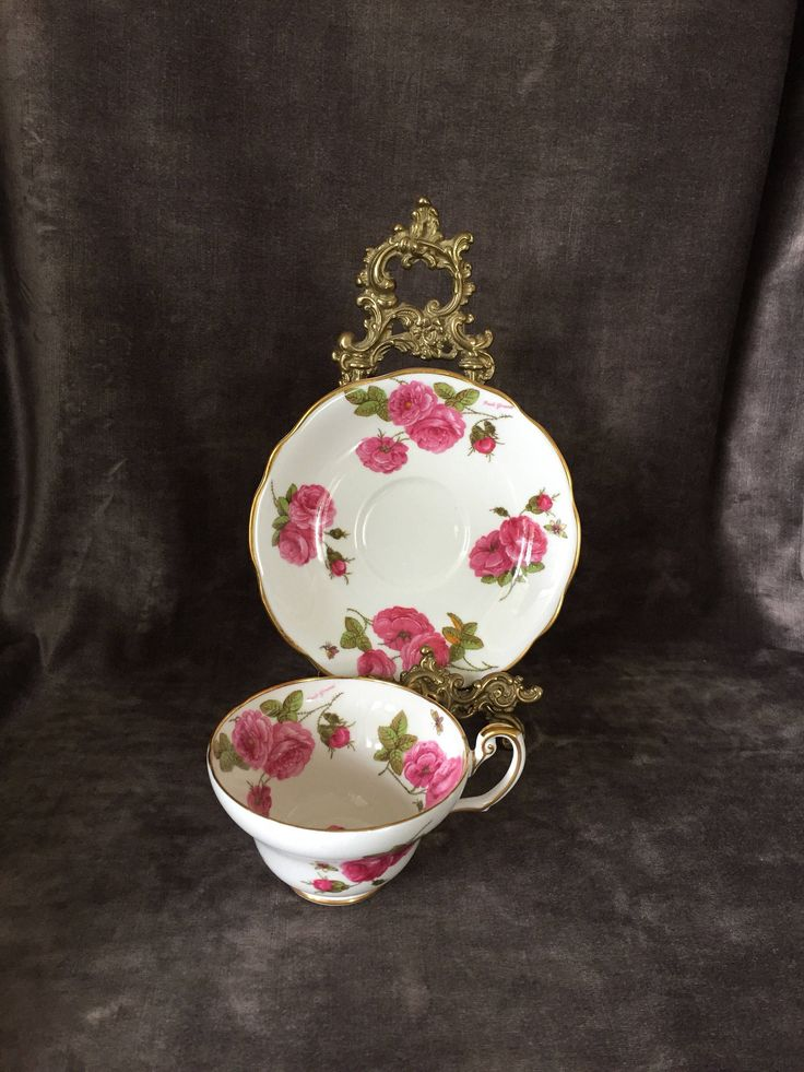 A personal favorite from my Etsy shop https://www.etsy.com/ca/listing/530511393/antique-vintage-teacup-by-foley-century