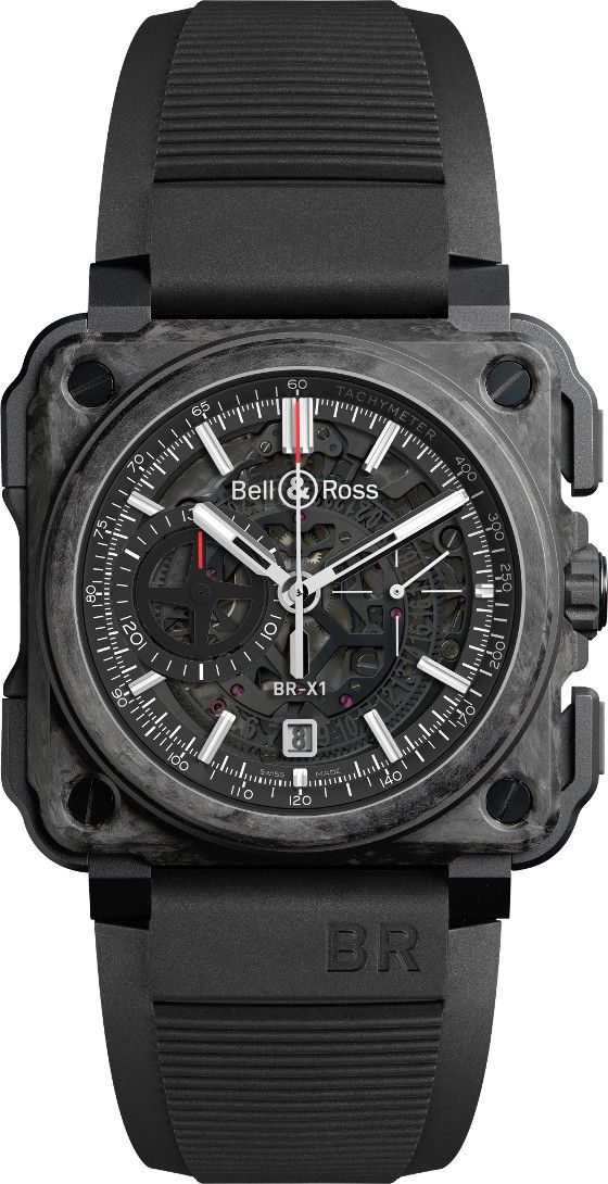 Showing at WatchTime New York 2015: Bell & Ross BR-X1 Carbone Forgé | WatchTime - USA's No.1 Watch Magazine